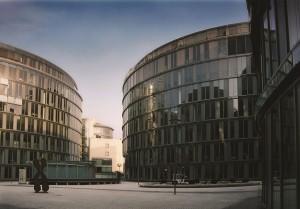 المبنى الجديد في جامعة فريسينيوس التطبيقية الخاصة واحدة من أقدم الجامعات الخاصة في ألمانيا، تأسست عام 1848